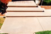 Custom Colored Cement Steps Company in San Diego