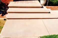 Custom Concrete Steps