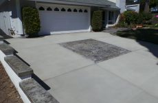 Colored Concrete Parking Driveway Company in San Diego