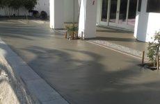 Gray Concrete Pool Deck
