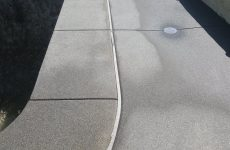 Concrete Sidewalk Contractor San Diego Ca, Broom Finish Cement Walkway