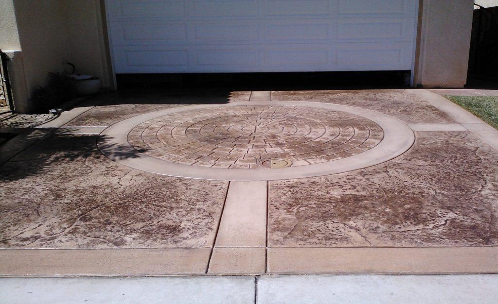 Stamped Driveway Concrete Contractor San Diego, Decorative Concrete Company San Diego Ca