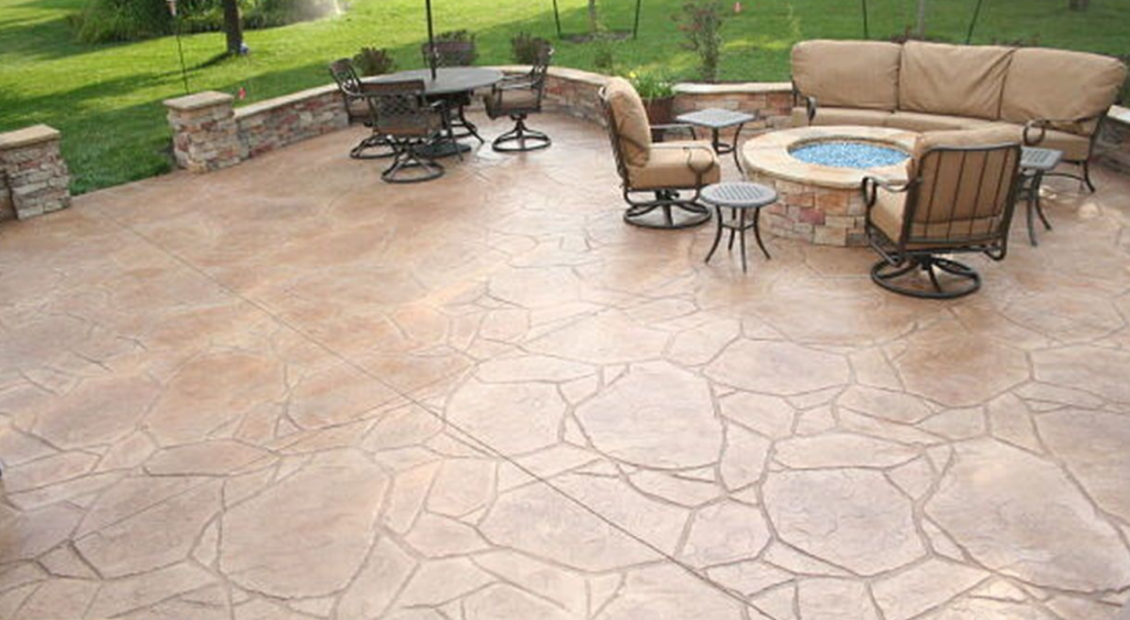 Flagstone Stamped Concrete San Diego
