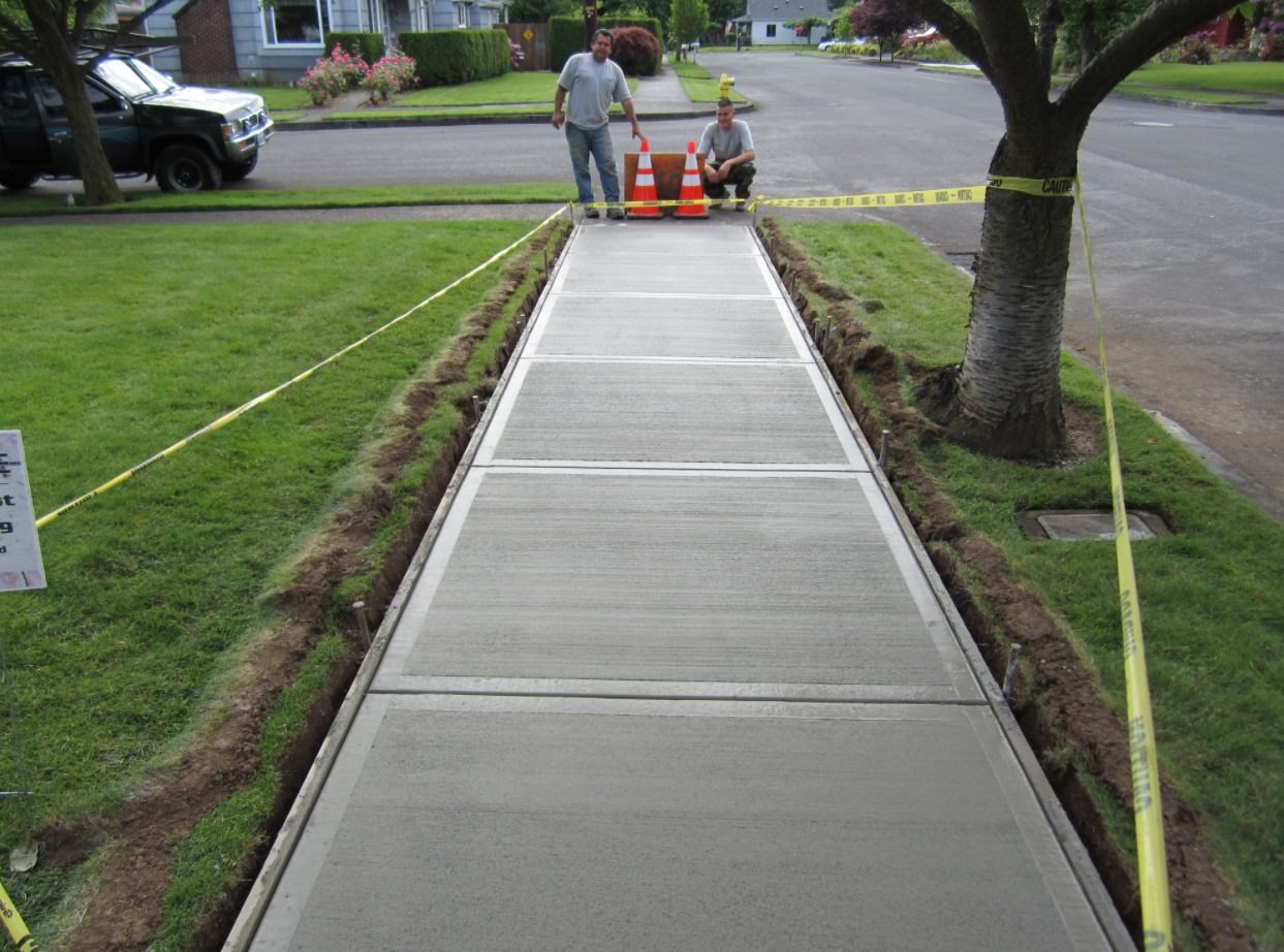 concrete sidewalks San Diego
