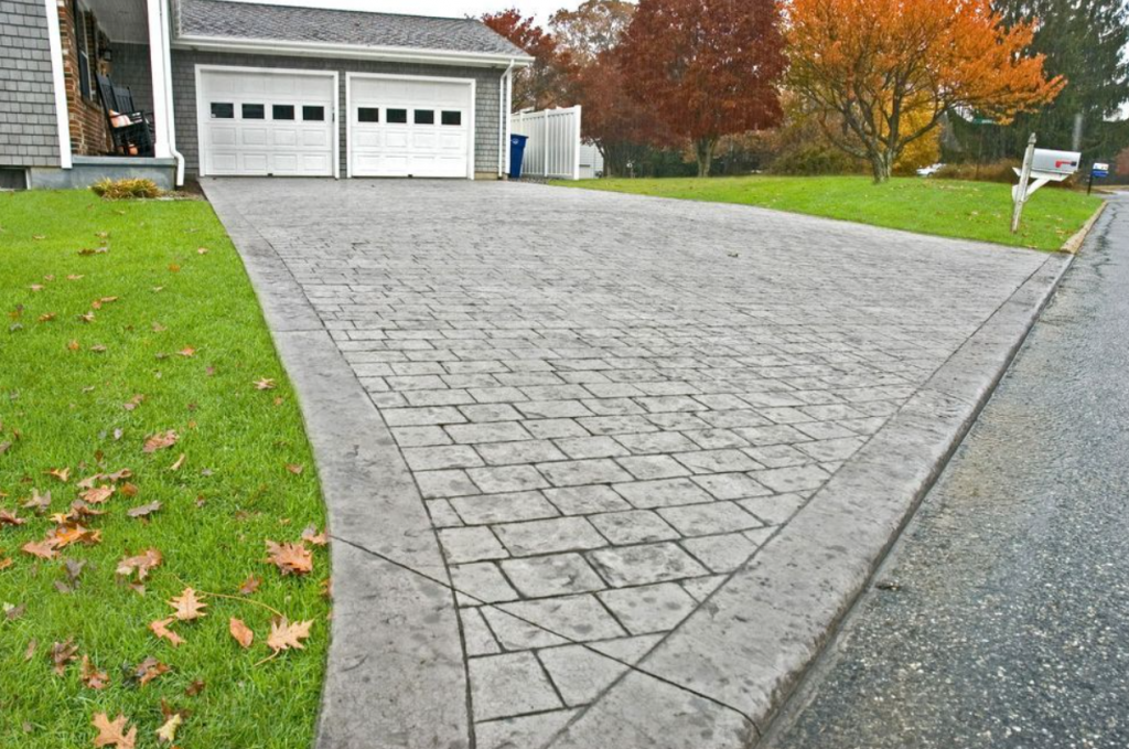Stamped Concrete Driveway Installation Cost San Diego
