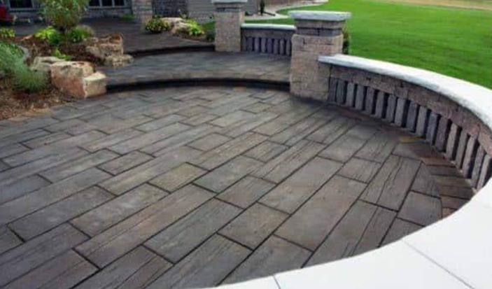 Creative Concrete Stamp Ideas For Your San Diego Home