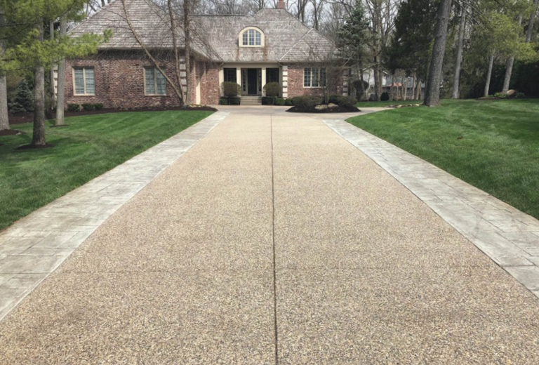 Exposed Aggregate Driveways Construction San Diego